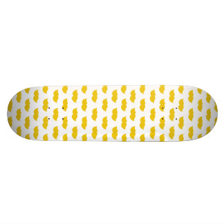 Yellow Moustaches Skate Board