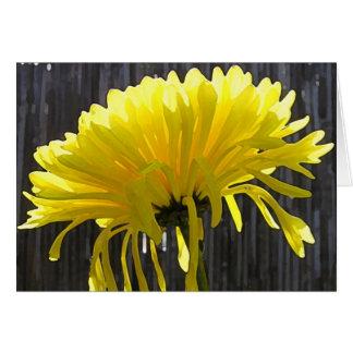Yellow Mum  Invitation Greeting Card