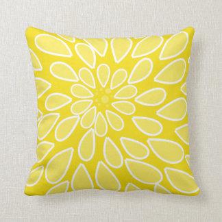 Yellow Mum Pillow