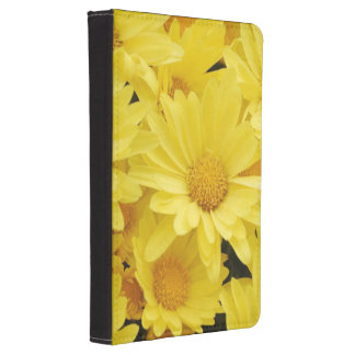 Yellow Mums Kindle Touch Cover