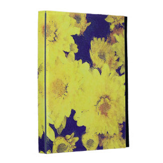 YELLOW MUMS iPad Folio Case