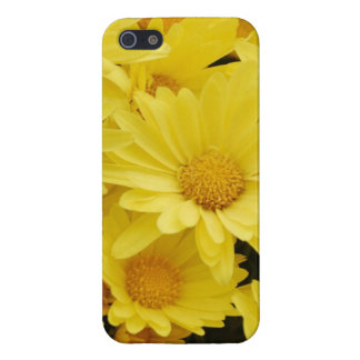 Yellow Mums iPhone 5 Cover