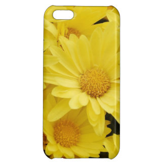 Yellow Mums iPhone 5C Cases