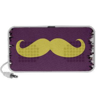 Yellow Mustache Notebook Speaker