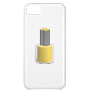 Yellow Nail Polish iPhone 5C Cover
