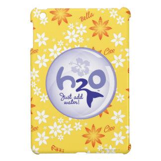 Yellow Name Pattern iPad Mini Cases