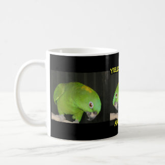 YELLOW NAPE AMAZON COFFEE MUG