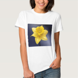 Yellow Narcissus Flower Floral watercolor paint Tees