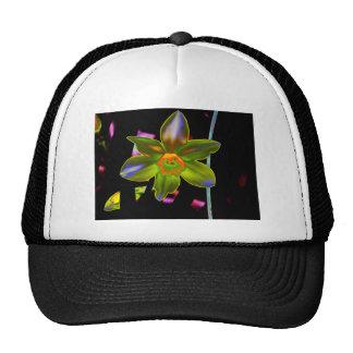 Yellow Neon Daffodil Mesh Hat