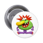 Yellow Nose Monster Badges