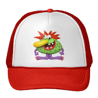 Yellow Nose Monster Hat