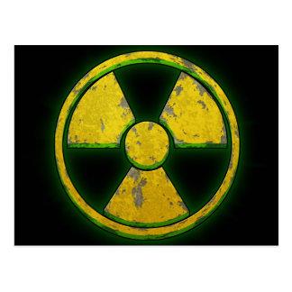 Yellow Nuke Postcard