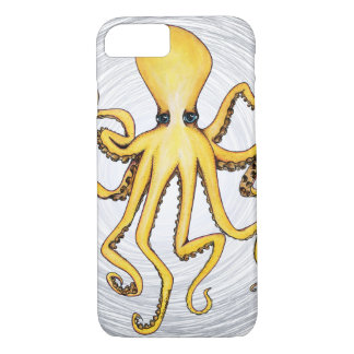 Yellow Octopus iPhone 8/7 Case