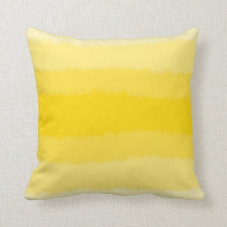 yellow ombre cushion