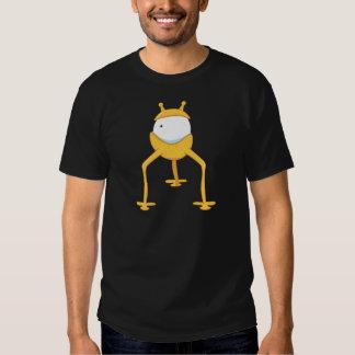 Yellow One-Eyed Goofy Alien T Shirt
