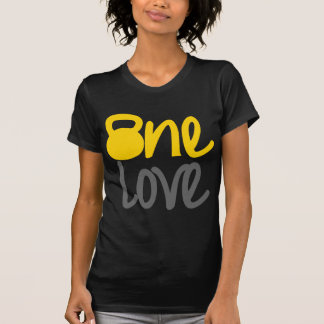 "Yellow ""One Love"" Kettlebell T-Shirt"