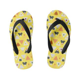 Yellow ONIGIRI Flops Kid's Flip Flops
