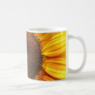 Yellow, Orange, and Brown Sunflower Mug