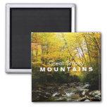 Yellow Orange Autumn Great Smoky Mountains magnet