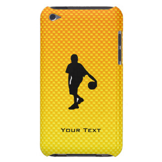 Yellow Orange Basketball Barely There iPod Cases