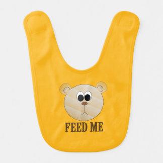 Yellow/Orange Bib For Toddlers
