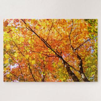Yellow/Orange Canadian Trees Jigsaw Puzzle