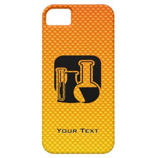 Yellow Orange Chemistry iPhone 5 Covers