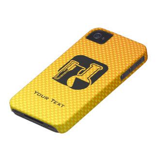 Yellow Orange Chemistry iPhone 4 Case-Mate Case