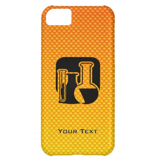 Yellow Orange Chemistry Cover For iPhone 5C