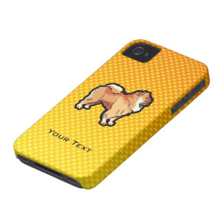 Yellow Orange Chow Chow iPhone 4 Case-Mate Case