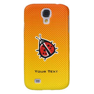 Yellow Orange Cute Ladybug Galaxy S4 Case