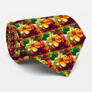 Yellow orange Daffodils 02.2.2.o Tie