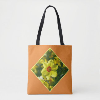Yellow orange Daffodils 02.2.3y Tote Bag