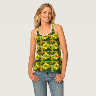 Yellow orange Daffodils 02.2o Tank Top