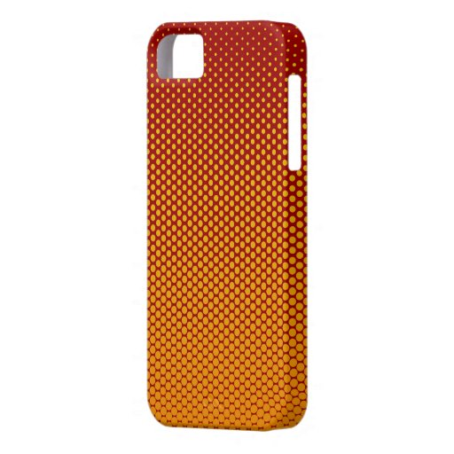 Yellow-Orange dots on ANY color custom iPhone case iPhone 5 Cover