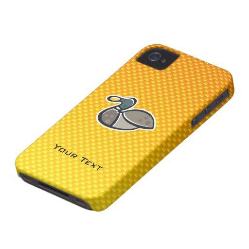 Yellow Orange Duck iPhone 4 Case-Mate Cases