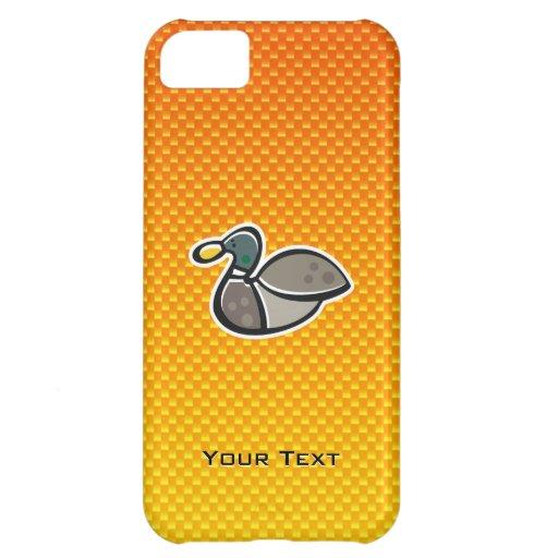 Yellow Orange Duck iPhone 5C Cases