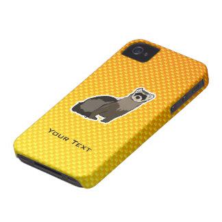 Yellow Orange Ferret Case-Mate iPhone 4 Case