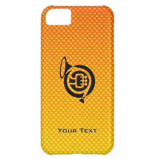 Yellow Orange French Horn iPhone 5C Cases