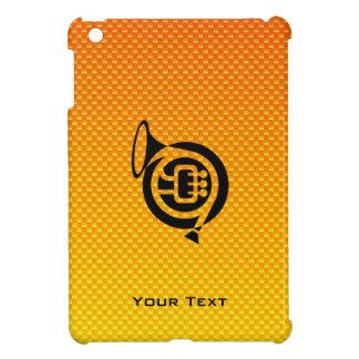 Yellow Orange French Horn iPad Mini Case