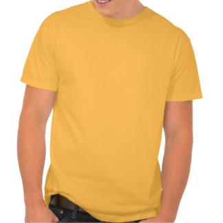 Yellow Orange Grumpy Dog T Shirts