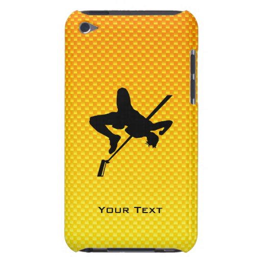 Yellow Orange High Jump Barely There iPod Case
