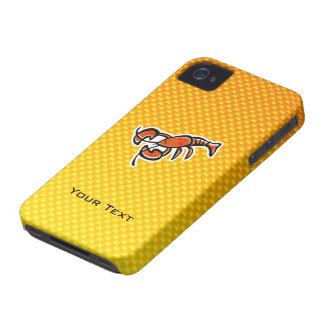 Yellow Orange Lobster Case-Mate iPhone 4 Case
