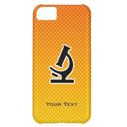 Yellow Orange Microscope Cover For iPhone 5C