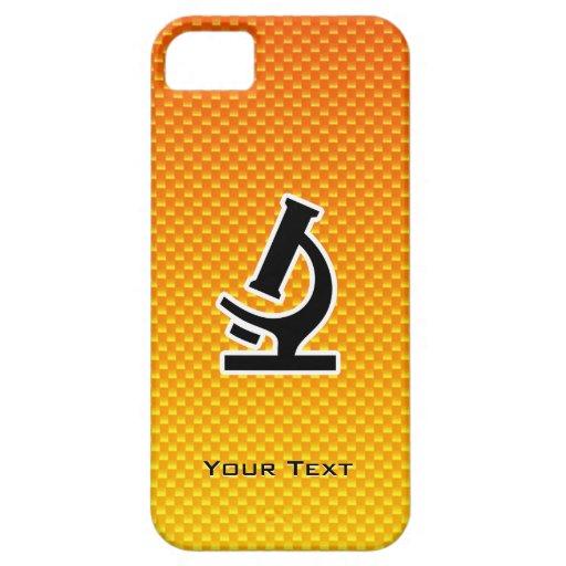 Yellow Orange Microscope iPhone 5 Covers
