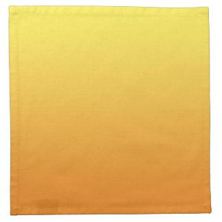 Yellow & Orange Ombre Napkin