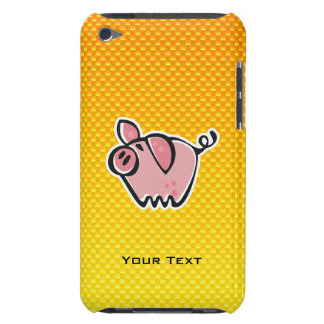 Yellow Orange Pig iPod Touch Case-Mate Case