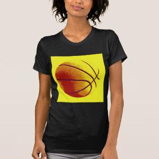 Yellow Orange Pop Art Basketball Tshirt