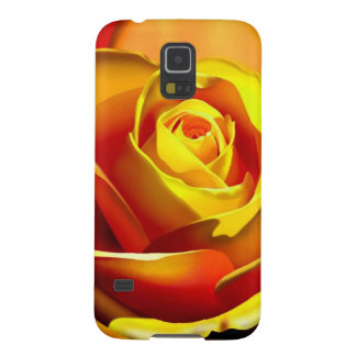 Yellow Orange Rose Cases For Galaxy S5