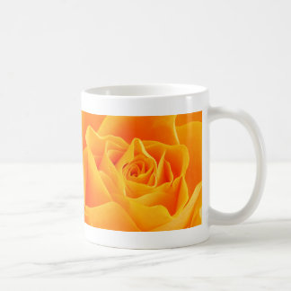 Yellow Orange Rose Mugs